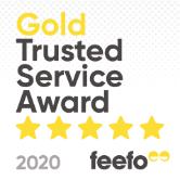 Feefo Gold Service 2019