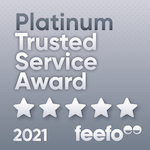 Feefo Platinum Service 2021