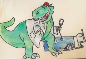 Consultasaurus Rex by David Reid