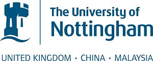 Nottingham University logo for UK, China & Malaysia