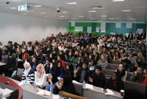 Our London Aspire event at Birkbeck University