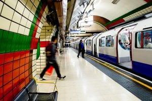 Cleaning regime London Underground