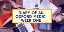 Diary of an Oxford Medical School Student