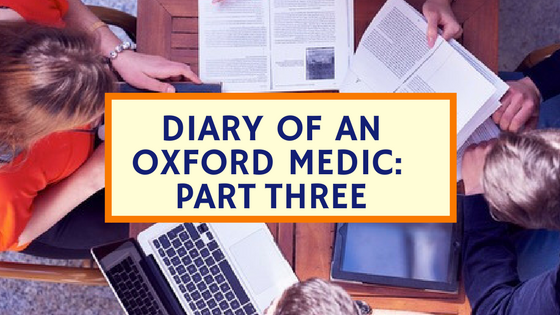 Diary of an Oxford Medic graphic