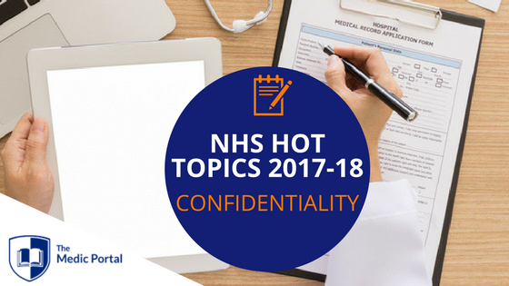 NHS Hot Topics_ Confidentiality