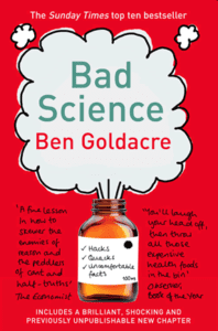 Book cover for Bad Science - a book for aspiring medics