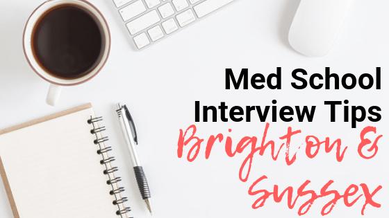 BSMS - Med School Interview Tips