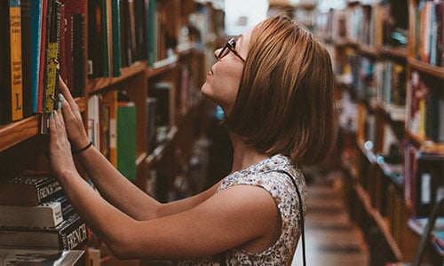 Library etiquette